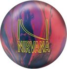 NEW Brunswick Nirvana Solid Reactive Bowling Ball, Red/Blue/Violet
