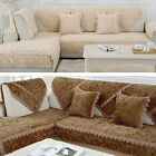 Hot Sale Sofa Mat Stylish Rose Elegant Couch Cover Fluffy Soft Armchair Cushion