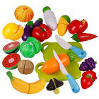 Fruit Role Play Fruit Vegetable Food Cutting Set Reusable New Pretend Kitchen