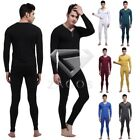 95%Cotton Mens Sexy Thermal Underwear Sets Long Johns Top & Bottom Adult M-XL