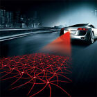 Car Cool Pattern Anti-Collision End Rear Tail Fog Driving Laser Caution Light EW