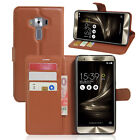 Book Flip Wallet stand Leather Case cover For ASUS ZenFone 3 Deluxe ZS550KL