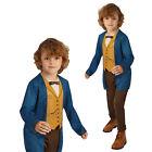 Rubies Official Childs Fantastic Beasts Newt Scamander Boys Fancy Dress Costume