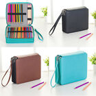 127 Slots PU Pencil Holder Bag Case Large Capacity Pen Box Organizer 3 Layers