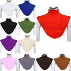 Women's Lady Muslim Moslem Hijab Islamic Turtleneck Neck Cover Dickey Collar Bib