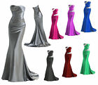 New Long Evening Formal  Party Ball Gown Prom Wedding Bridesmaid Dress Size 6-18