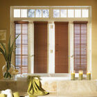 "SET OF 2 - 2"" FAUXWOOD BLINDS 9 1/4"" WIDE x 49"" to 60"" LENGTHS - 5 GREAT COLORS!"