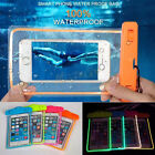 Luminous Waterproof Underwater Phone Pouch Bag Pack Case Cover For CellPhone