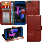Vintage Luxury Wallet Leather Case Cover + Screen Film For Huawei Mobile Phones