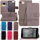 For Huawei Y5 II Y6 II Compact Elite 3D Emboss PU Leather Stand Flip Case Cover