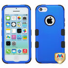 For Apple iPhone 5C Hybrid TUFF IMPACT Phone Case Hard Rugged Cover