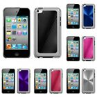 For Apple iPod Touch 4th Gen Aluminum Armor Cosmo Slim Hard Case Phone Cover