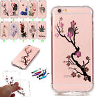 Ultra Thin Crystal Slim Plating Soft Painted Soft TPU Back Case Cover For iPhone