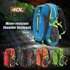40L Outdoor Hiking Bag Camping Waterproof Mountaineering Backpack Rucksack S3L2