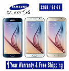 Samsung Galaxy S6 Edge/S6/S5 (FACTORY UNLOCKED) 5.1* - Black White Blue Gold AN