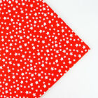 160x50cm Red Navy Stars cotton fabric patchwork quilt sewing DIY Cloth 2 Colors