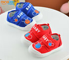 2017 Spring Toddler Boys Casual Shoes Baby Little Kids Fabric Walking Shoes