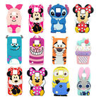 3D Cartoon Soft Silicone Back Case Cover For LG X Power X CAM X Style K7 K8 K520