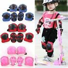Kids Outdoor Skating Skateboard Roller Knee Wrist Elbow Guard Pads Protector LD