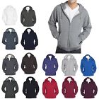 MEN'S LIGHTER WEIGHT FLEECE, ZIP UP, HOODIE, PRESHRUNK, XS S M L XL 2X 3X