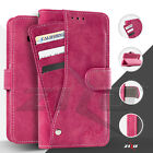 For LG X Power K6P ZIZO Pocket Wallet Slide Out Case Pouch With Card Slots