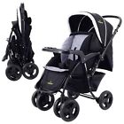 Two Way Foldable Baby Kids Travel Stroller Newborn Infant Pushchair Buggy System