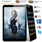 7 inch A33 Android 4.4 Quad-Core 8GB Tablet PC Dual Camera WIFI Bluetooth Black