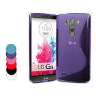 COQUE EN SILICONE S LINE POUR LG G3 CASE COVER  PROTECTION
