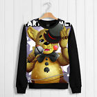 Game Unisex Sweater Coat Thicken Hoodie Five Nights at Freddy's Puliover Cos#wb1
