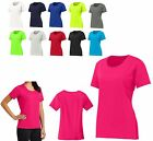 LADIES SNAG RESISTANT, MOISTURE WICKING, SCOOP NECK, SHORT SLEEVE T-SHIRT XS-4XL