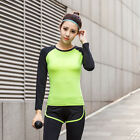 Women Autumn&Winter Fitness Yoga Elastic Quick-dry Breathable Long Sleeve Tops