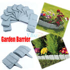 Home DIY Vegetable garden Plastic Fence Panels Patio Border Lawn Edge Fencing UK