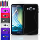 SLIM GEL CASE COVER & SCREEN PROTECTOR FOR SAMSUNG GALAXY J5 (6) 2016