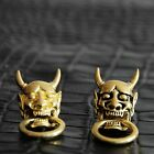 【H69】Solid Brass Concho Japanese Demons Wallet Chain Connector Jointpart Craft