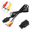 5/10/15/30pcs TV Audio Video Cord A/V Composite Cable for Nintendo N64 GameCube
