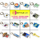 Personalised Keyrings - Make Your Own Photo Keyrings - Upload Any Photos