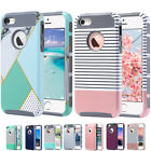 Shockproof Rugged Hybrid Rubber Hard Cover Case For Apple Iphone 5s/5/se