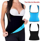 EXTREME Blue slimming body thermo cami hot Neoprene shaper Vest Sweat US Ship AM
