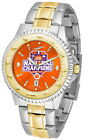 Clemson Tigers 2016 Championship Watch  2-Tone Competitor Ladies or Mens