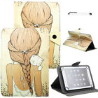 "Hot Universal Cartoon PU Leather Stand Cover Case For 7.9"" 8 8.4 Inch Tablet PC"