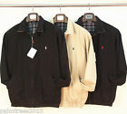 Polo Ralph Lauren Pony Mens Vintage Harrington Black Cream Jacket - S M L XL XXL