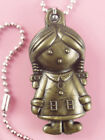 P054 Acrylic pendant iron or Stainless Steel chain you pick girl new