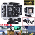 "2"" Mini 1080P Full HD DV Sports Recorder Car Waterproof Action Camera Camcorder"