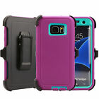 For Samsung Galaxy ( S7 Edge ) Case Cover with(Belt...