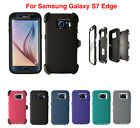 Внешний вид - For Samsung Galaxy ( S7 Edge ) Case Cover with(Belt Clip Fits Otterbox Defender)