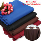 New 90x156cm Hotel Banquet Polyester Pure Color Rectangle Lace Table Cloths