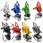 For Yamaha YZF MT3 MT-3 CNC Front Rearset Footrest Foot Pegs Adjustable Aluminum