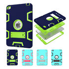 Hybrid KID Shockproof Rubber Stand Hard Case Cover for Apple iPad mini Air 2 LOT