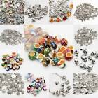 500Pcs Wholesale Tibet Silver Beads Spacer For Jewelry Making European Bracelets