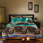 100% Combed Cotton Duvet Cover Set Queen King Made In Canada  #1606